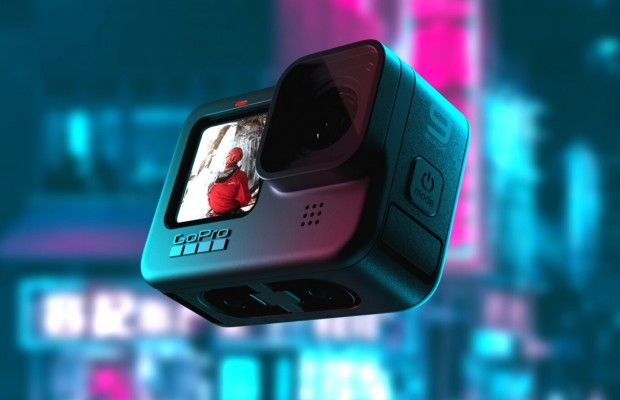 New GoPro Hero 9 Black with dual screens and better all round