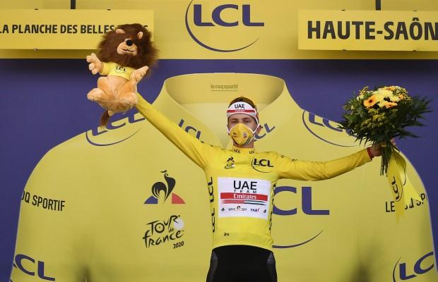 Pogacar revienta el Tour de Francia y hace historia
