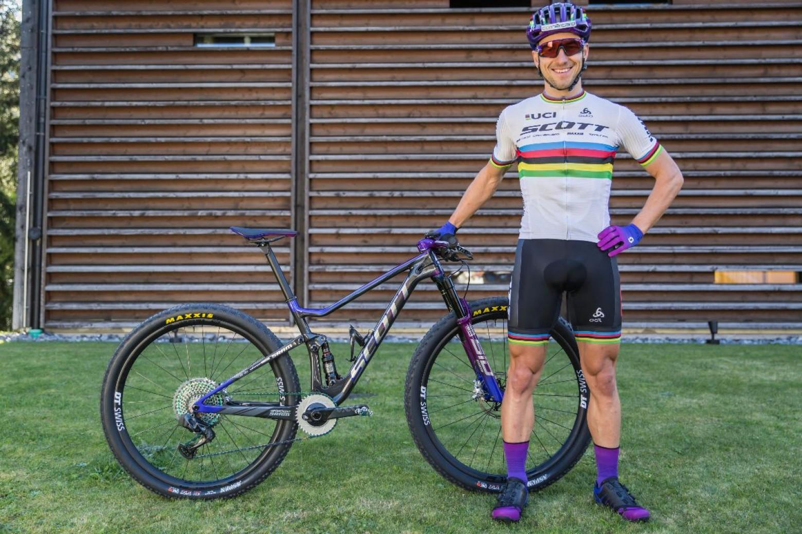 Bike Check: Nino Schurters Scott Spark - Nove Mesto World
