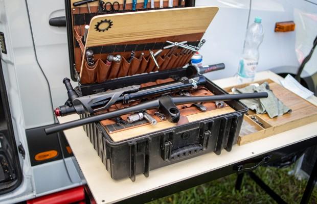 Así es la caja de herramientas de Andi Pscheidl, mecánico jefe del Cannondale Factory Racing