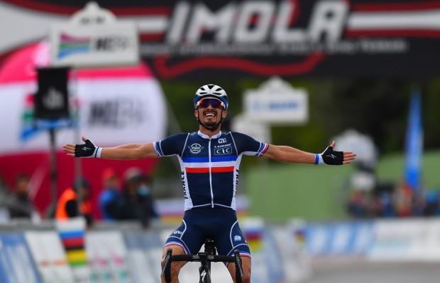 Julian Alaphilippe Campeón del Mundo 2020