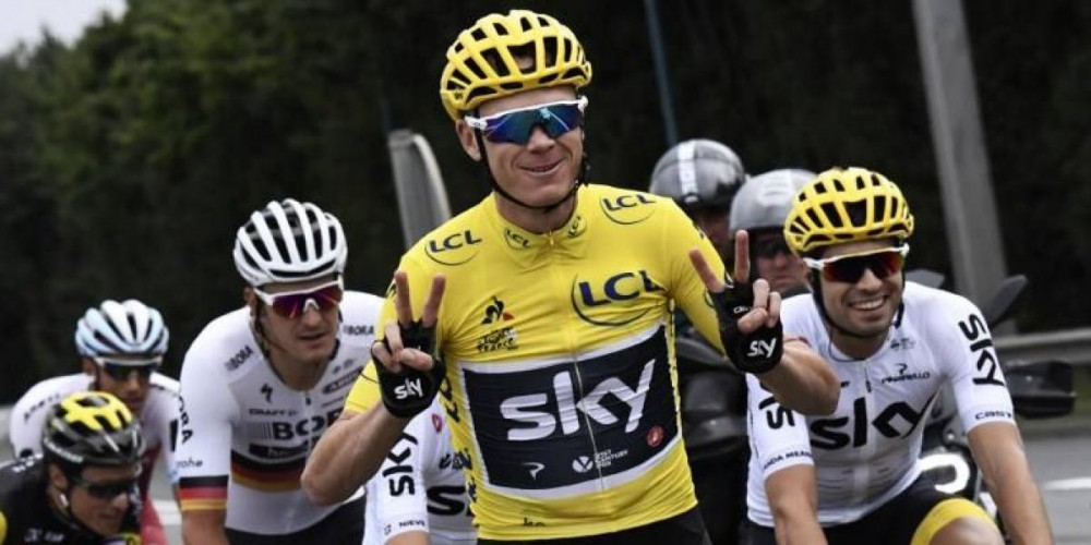 Chris Froome, Tour de Francia