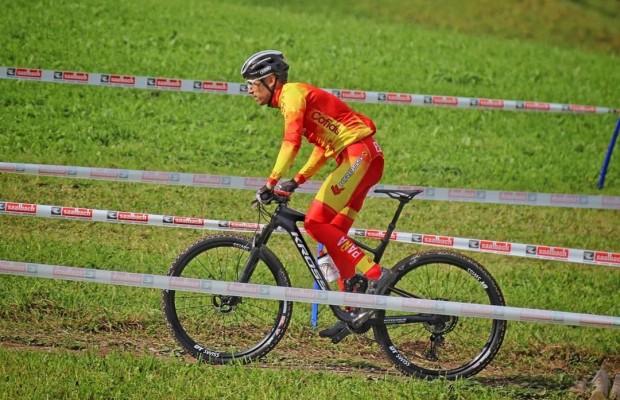 Sergio Mantecón enseña desde dentro el circuito del Campeonato del Mundo Leogang XCO