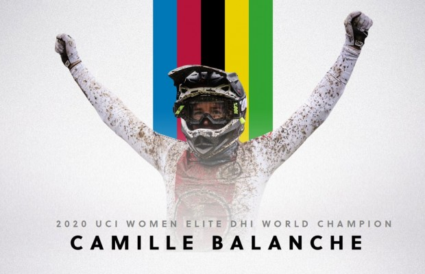 Camille Balanche Campeona del Mundo DH 2020
