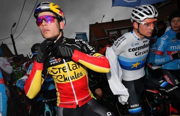 Van der Poel Vs Van Aert en el Tour de Flandes