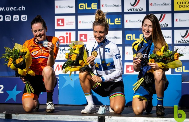 Nobody can beat Pauline Ferrand Prevot who is the European 2020 Champion