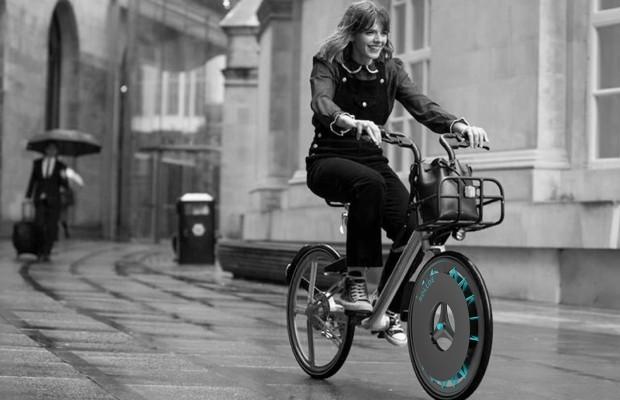 Con esta rueda no contaminas y además filtras el aire de tu ciudad