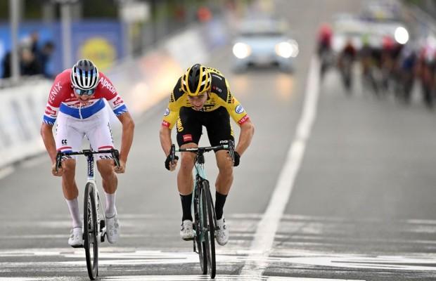 """Van der Poel: """"Ha sido el sprint de mi vida"""""""