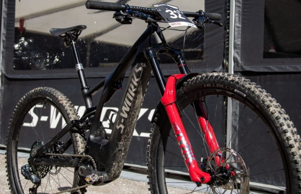 The Specialized Turbo Levo with which Pidcock won the eMTB World Championship