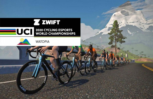 The UCI 2020 Cycling eSports World Championship will be this December in Watopia
