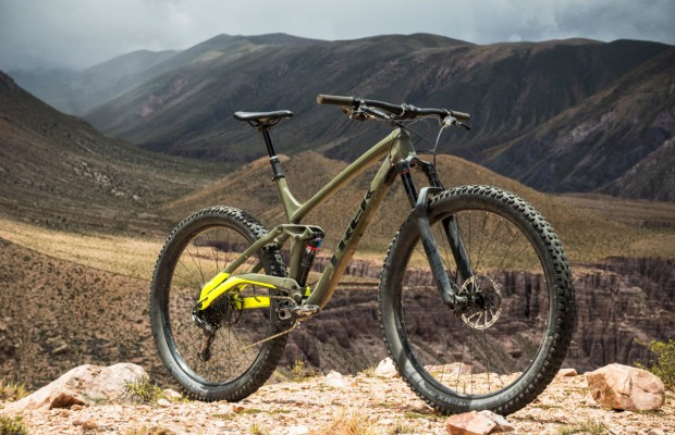 Trek presenta la Full Stache, puro trail