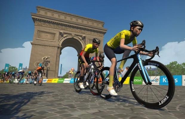 Zwift suspende 6 meses a dos ciclistas por falsear datos en carrera