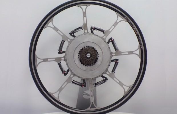 Esta revolucionaria rueda ofrece asistencia eléctrica sin motor