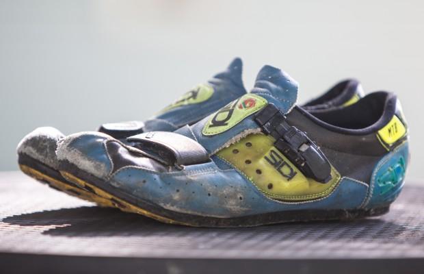 Cuándo cambiar las zapatillas de ciclismo