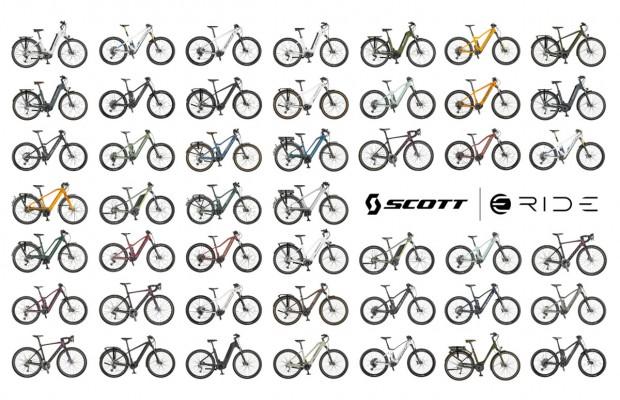 Colección Scott 2021 eRIDE, de la ciudad a la montaña