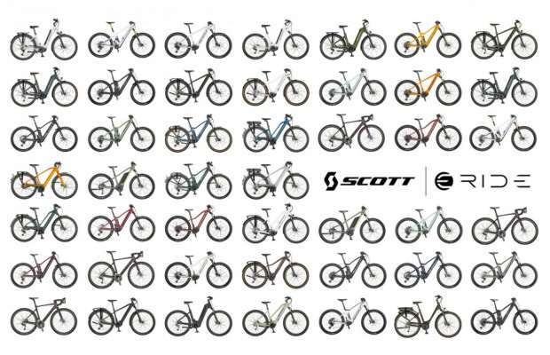 The Scott 2021 eRIDE collection, from the city to the mountains