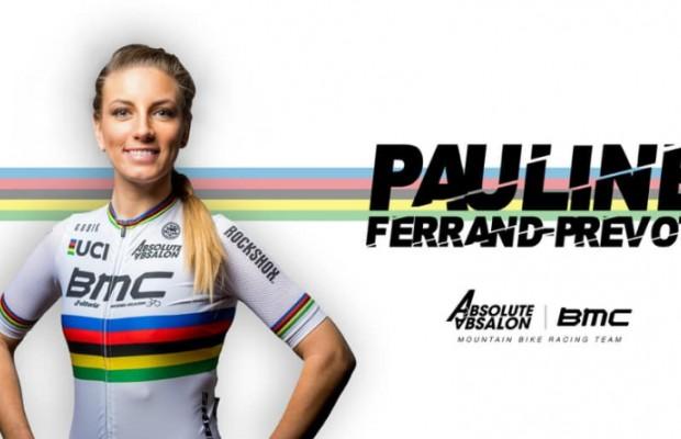 Pauline Ferrand-Prévot ya es ciclista del Absolute Absalon