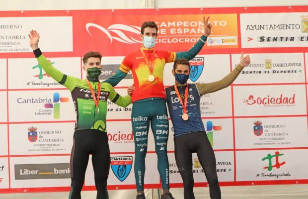 Felipe Orts y Lucía González vuelven a ganar el campeonato nacional de CX
