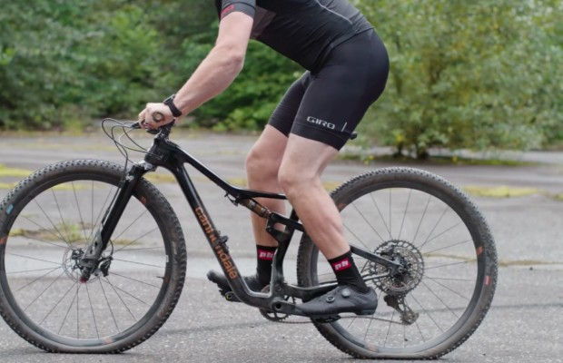 Smashing mountain bikes in slow motion, as painful as irresistible