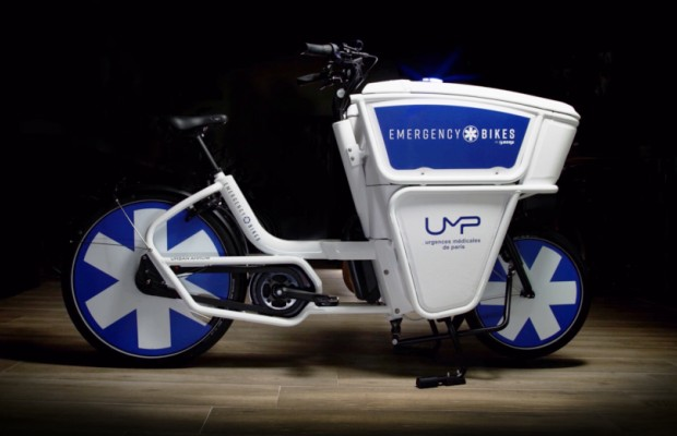 Esta Emergency Bike es dos veces más rápida que las ambulancias convencionales