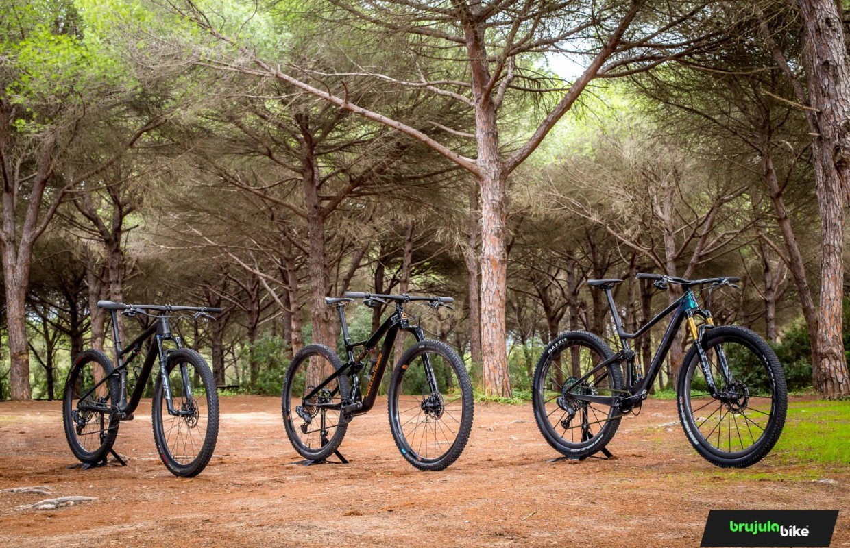We test and compare three MTB top bikes: Specialized Epic vs Scott Spark vs Cannondale Scalpel