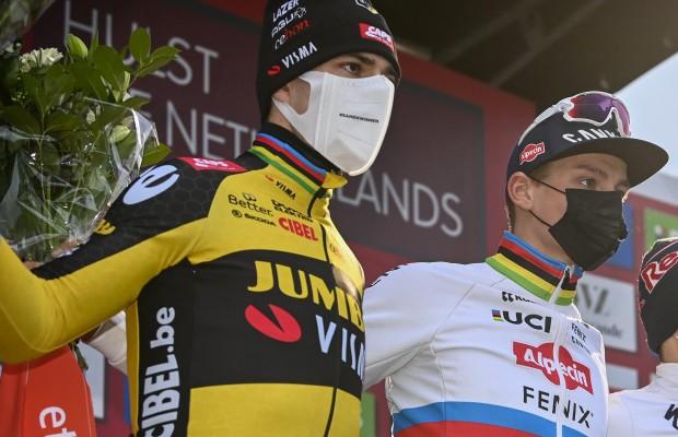 Van Aert da como favorito a Van der Poel para ganar el Mundial CX
