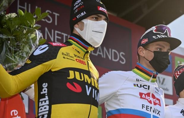 Van Aert puts Van der Poel as favourite to win the CX World Championships