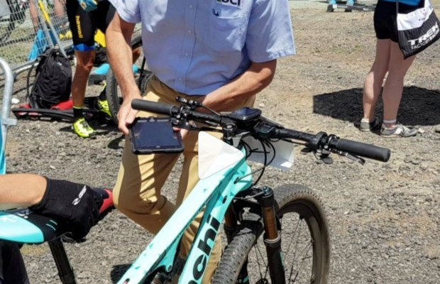 Así se realiza un control antidopaje tecnológico en mountain bike