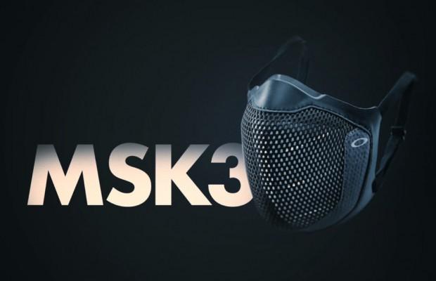MSK3, Oakley estrena una mascarilla muy exclusiva
