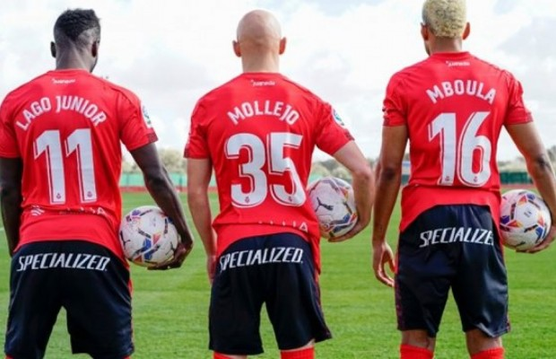 Specialized arrives at football by sponsoring RCD Mallorca