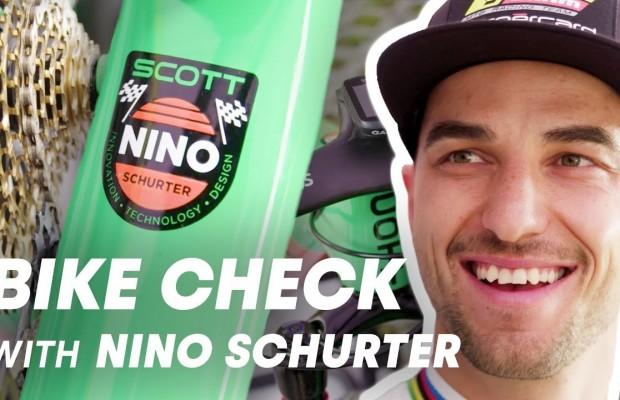 Nino Schurter explica al detalle su Scott Spark retro