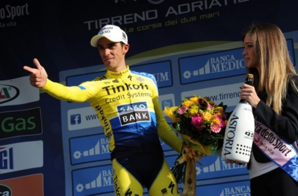 Alberto Contador, Strava