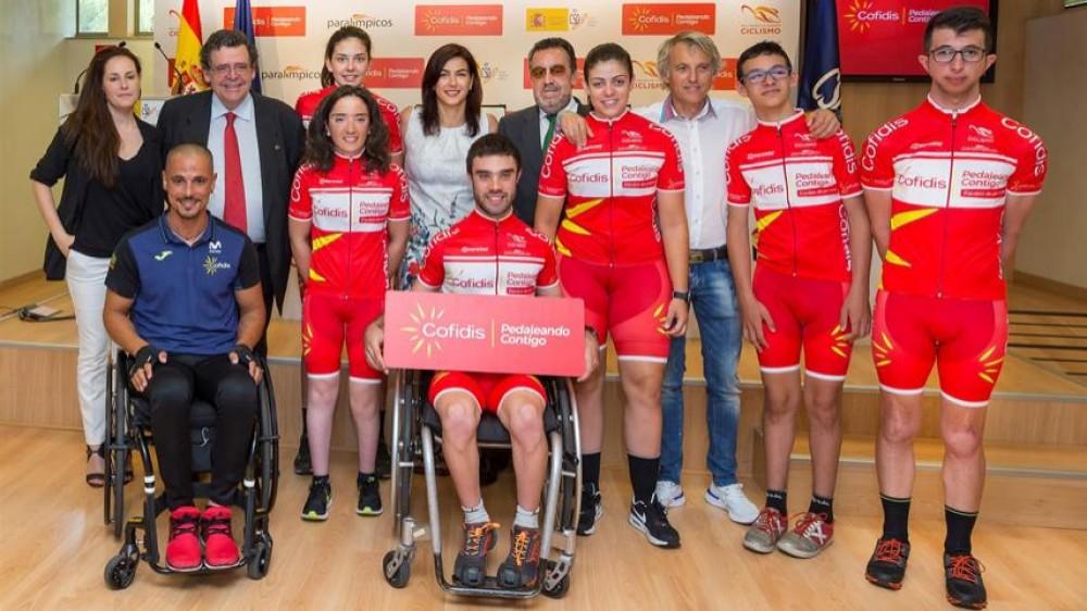 Jesús Calleja, ciclismo paralímpico