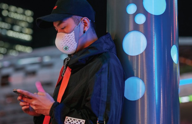 AirPop Active+, una mascarilla que monitoriza tu respiración