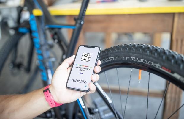 Tubolito PSENS, una cámara ultraligera para MTB que manda información sobre la presión a tu móvil