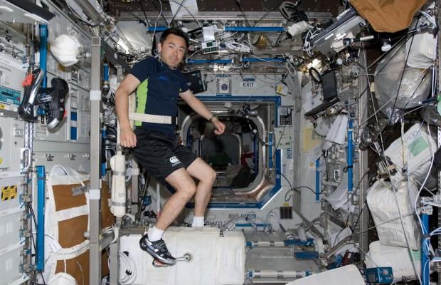 CEVIS, la bicicleta que utilizan los astronautas de la Estación Espacial Internacional
