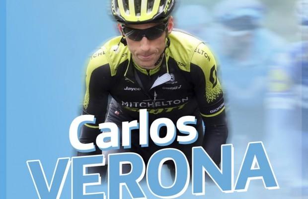 Carlos Verona ficha por el Movistar Team