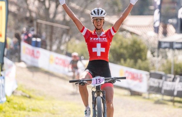 Mathias Flückiger and Jolanda Neff win XCO Swiss National Championships