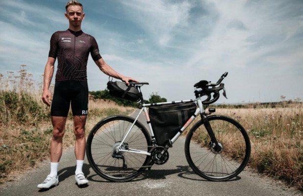Con esta bici James Hayden ha ganado la Transcontinental 2018