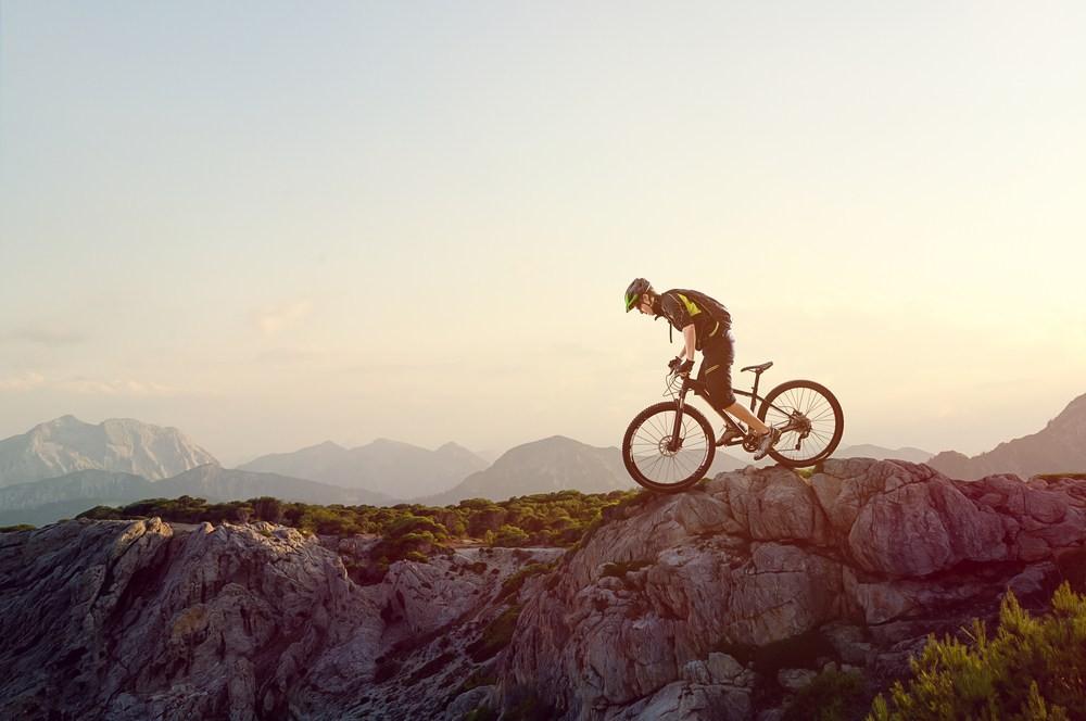 Meteorología, mountain bike