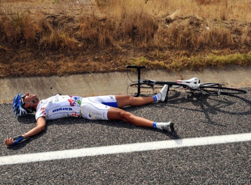 sobreentrenamiento, ciclismo