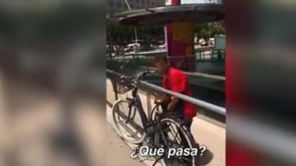 Robando una bici
