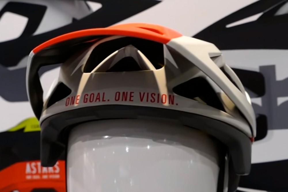 alpinestars casco xco mountain bike frontal