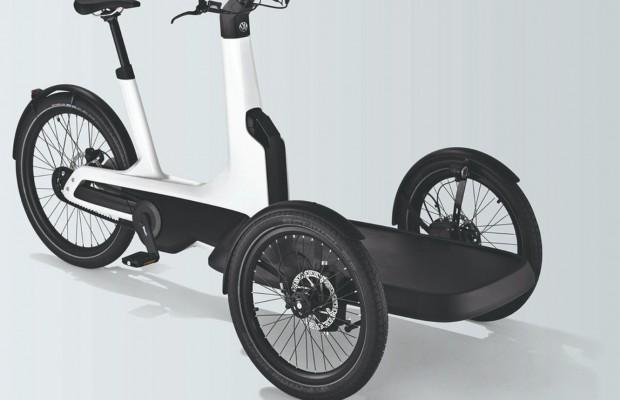 La nueva bici eléctrica de Volkswagen puede transportar hasta 210 kg