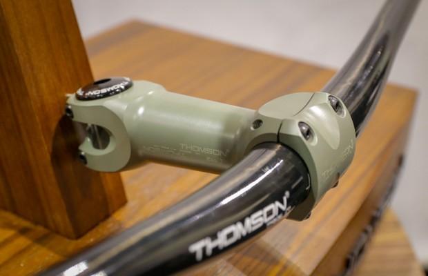 Thomson presenta una potencia y tija con recubrimiento cerámico