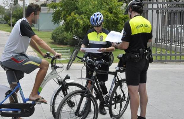 Aumento considerable de multas a ciclistas en los últimos meses