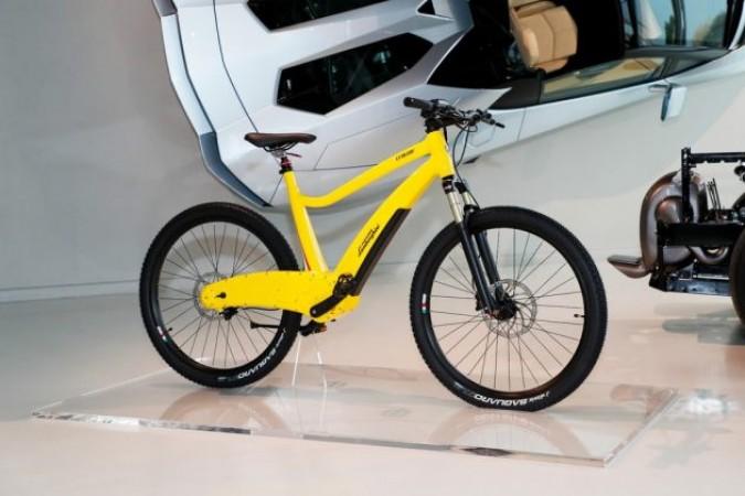 Lamborghini, bicicletas eléctricas