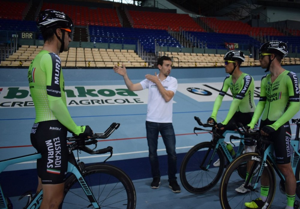 entrenar velodromo