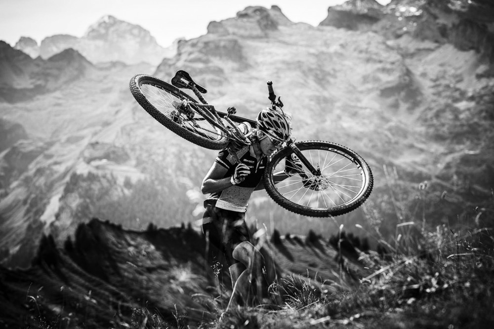 leave comfort zone mountain bike