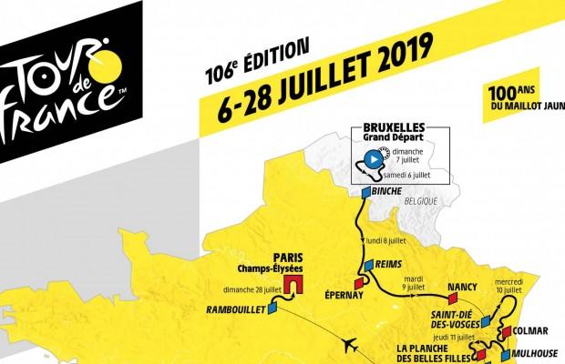 Desvelado el recorrido del Tour de Francia 2019, pura MONTAÑA